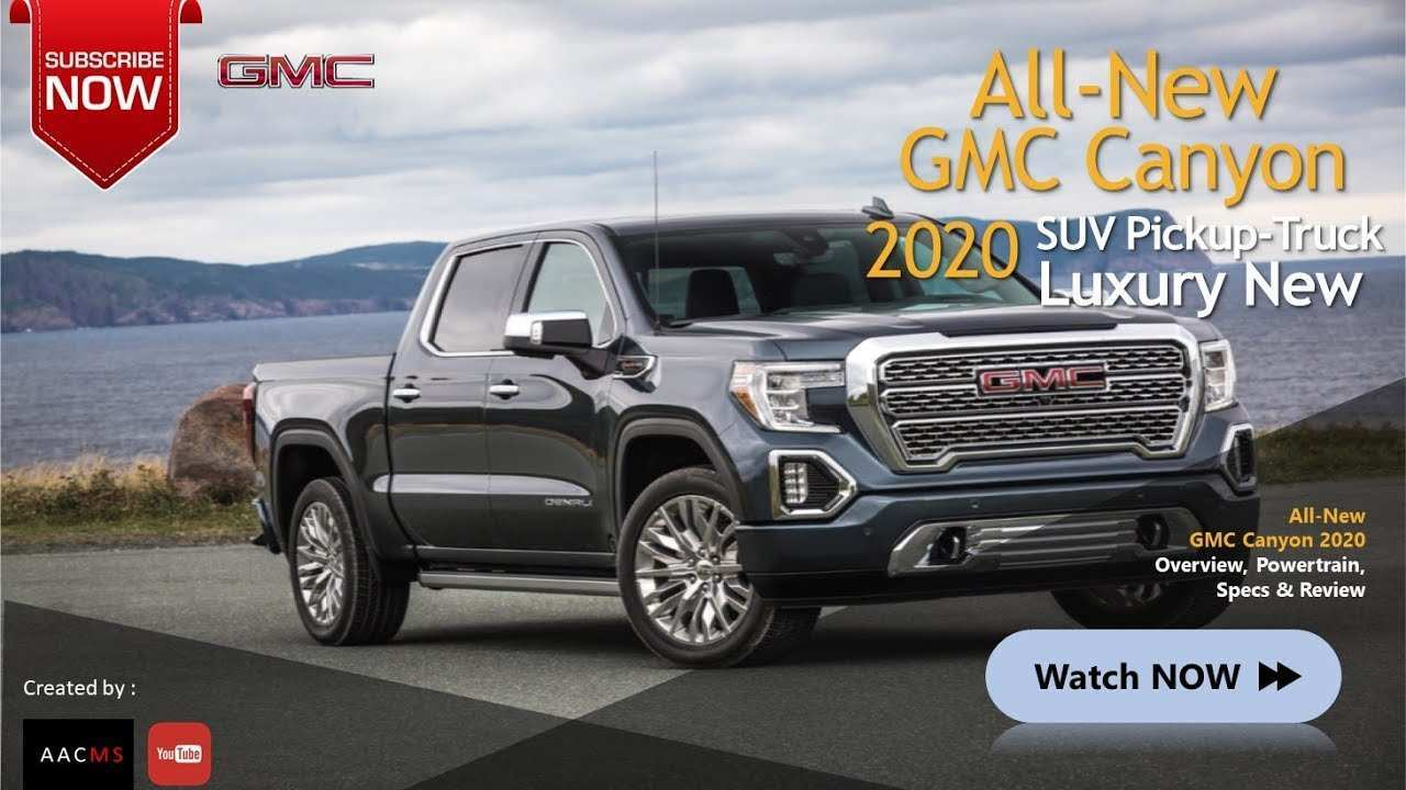 43 Best Gmc Canyon 2020 Performance And New Engine