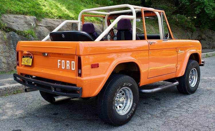 43 New 2020 Orange Ford Bronco Performance And New Engine