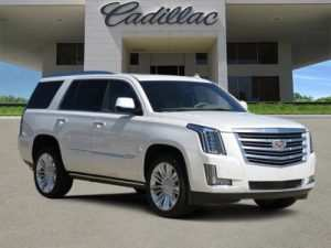 43 The Best 2019 Cadillac Escalade Platinum Performance and New Engine