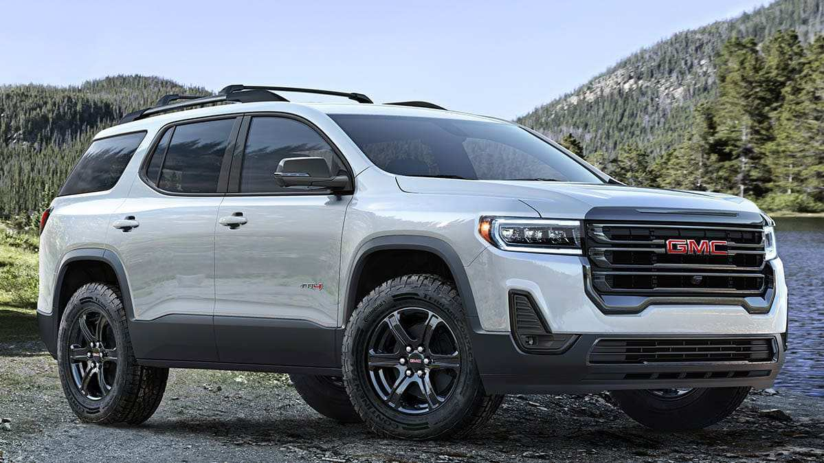 43 The Best 2020 Gmc Acadia Changes Release Date And Concept