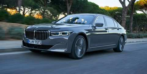 44 All New 2020 BMW 750Li Images