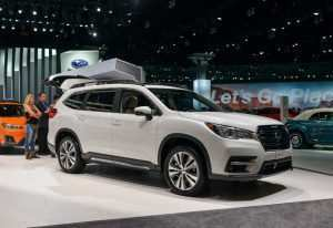 44 The 2019 Subaru Outback Next Generation Performance and New Engine