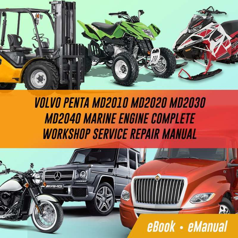 44 The Volvo 2020 Marine Diesel Manual Configurations