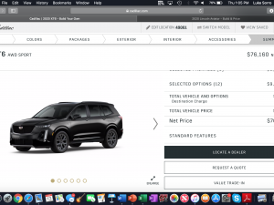 45 A 2020 Cadillac Build And Price Research New