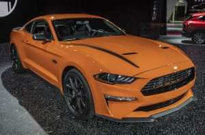 45 A 2020 Ford Mustang Overview