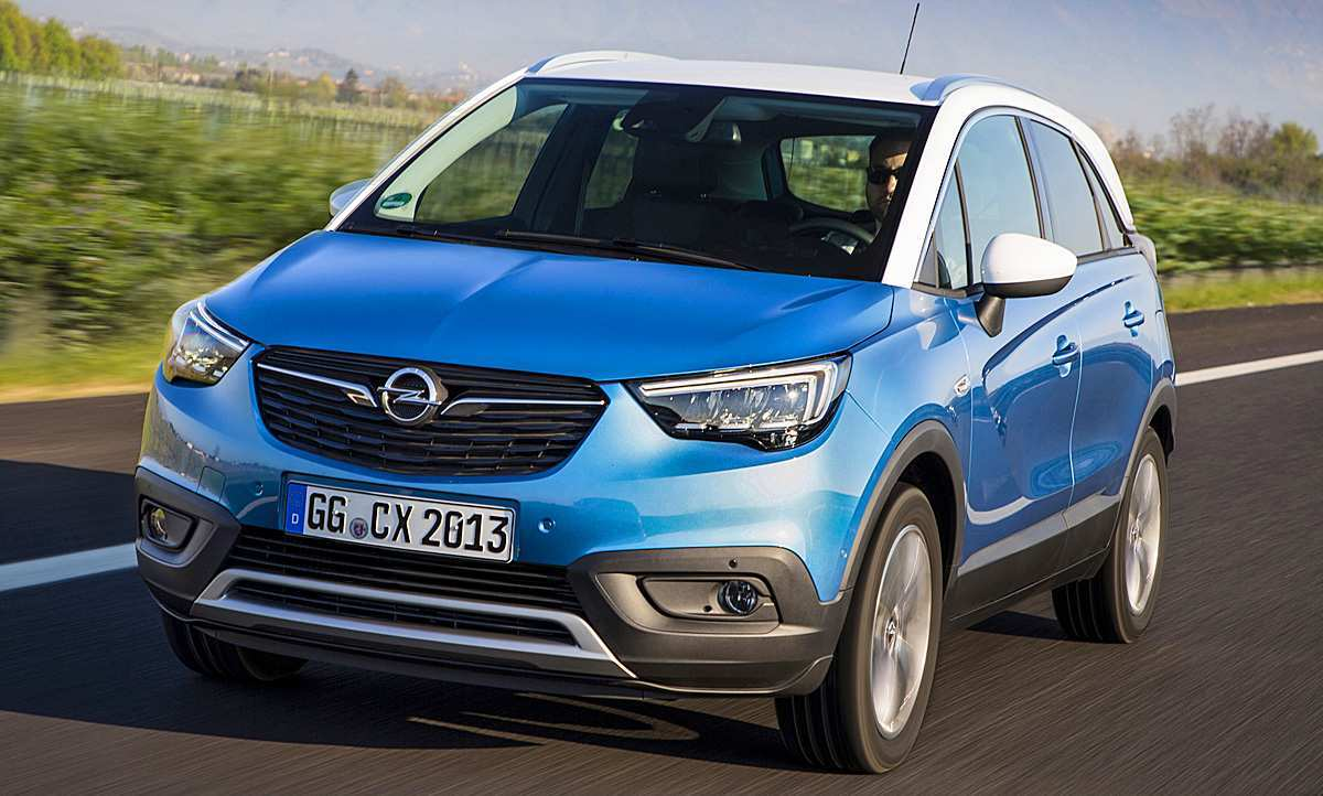 45 A Opel Crossland 2020 New Review