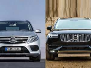 2020 Mercedes Gle Vs Volvo Xc90