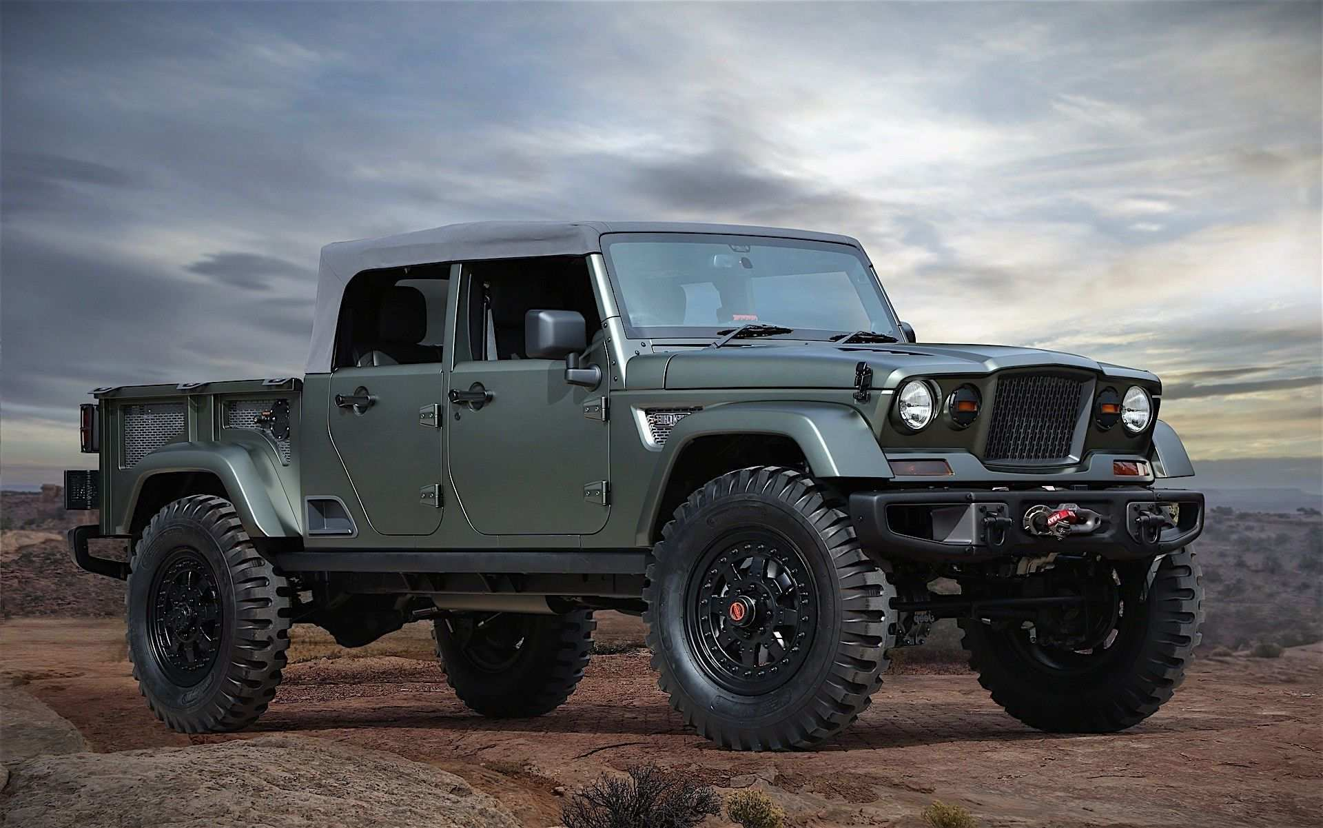 45 The Best 2019 Jeep Diesel Truck Style