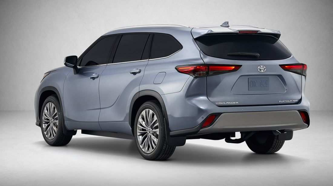 45 The Toyota Highlander 2020 First Drive