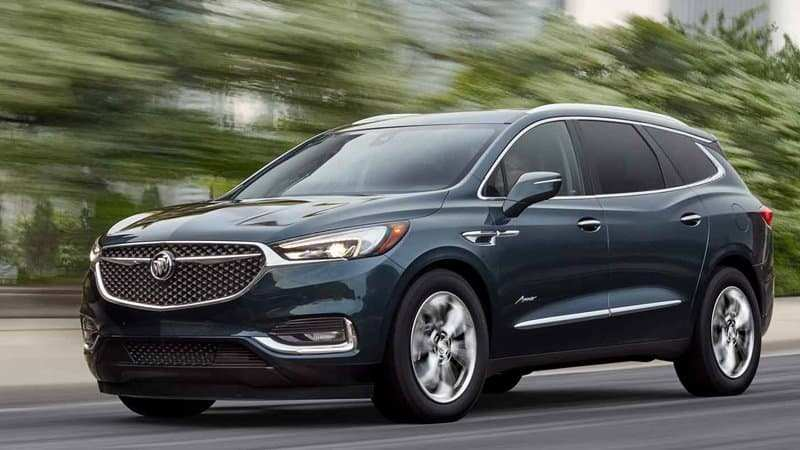 46 A 2020 Buick Suv Exterior And Interior