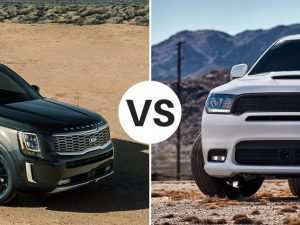 46 All New 2020 Kia Telluride Vs Dodge Durango Release