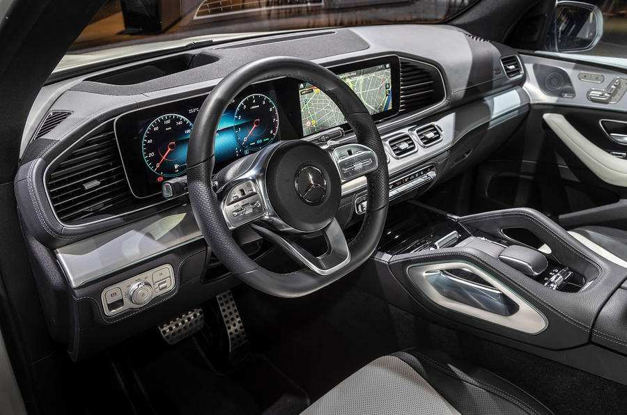 46 All New Mercedes Gle 2019 Interior Wallpaper