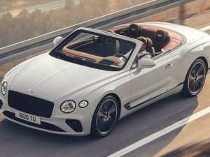46 Best 2019 Bentley Continental Gtc Redesign
