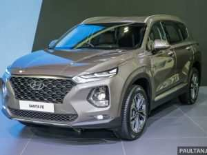 46 The 2019 Hyundai Santa Fe Engine Picture
