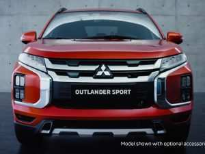 46 The Mitsubishi Sport 2020 Spy Shoot