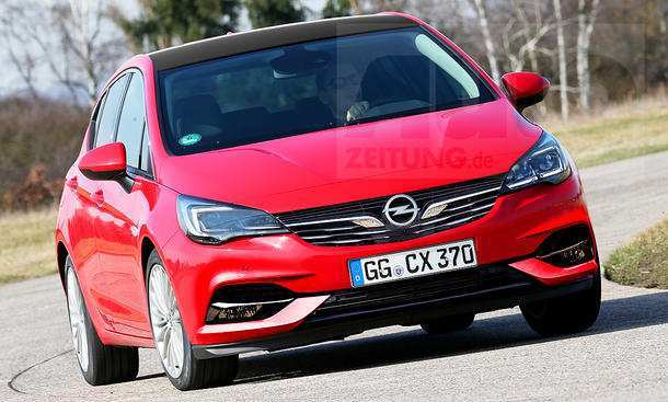46 The Opel Astra K Sports Tourer 2020 Configurations