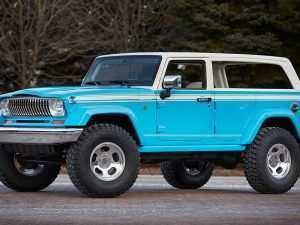 47 A 2020 Jeep Grand Wagoneer Photos
