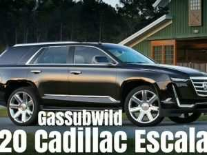 All New Cadillac Escalade 2020