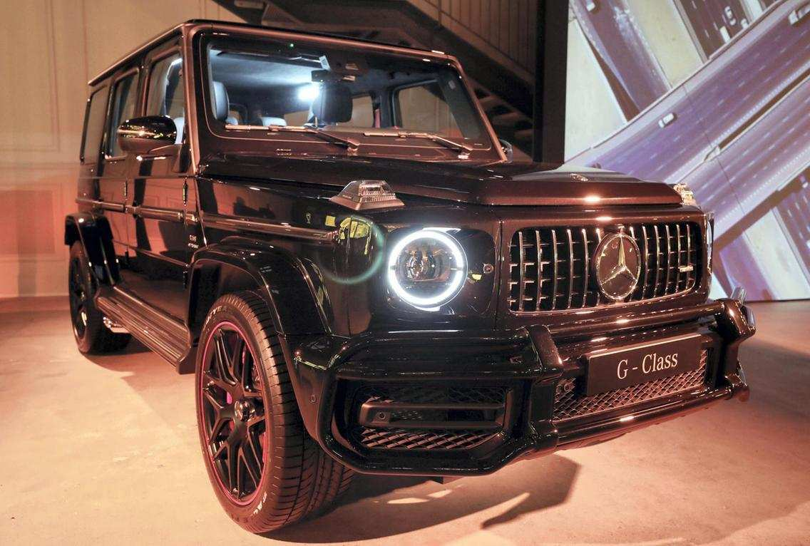 47 A Mercedes 2019 G Wagon Ratings