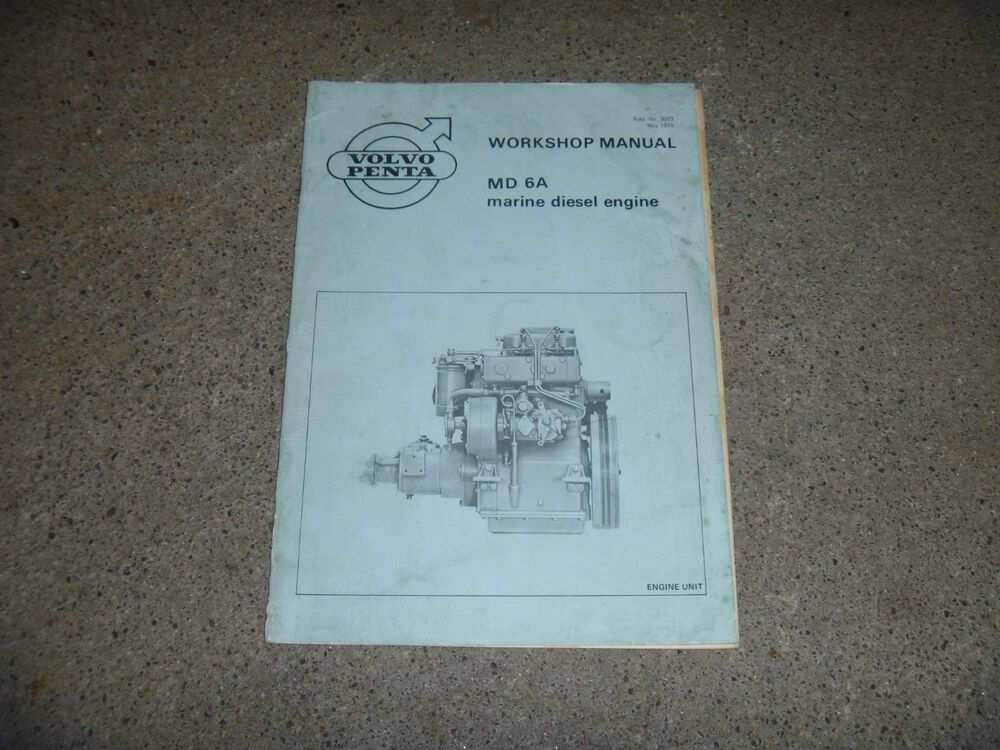 47 A Volvo Penta 2020D Service Manual Review And Release Date