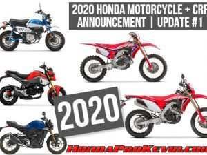 47 Best Honda Motorcycles New Models 2020 Exterior and Interior