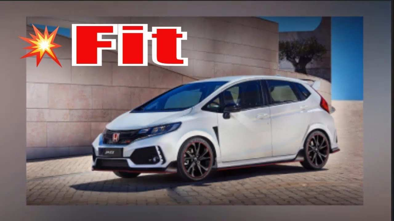 47 The Honda Fit Redesign 2020 Price And Review