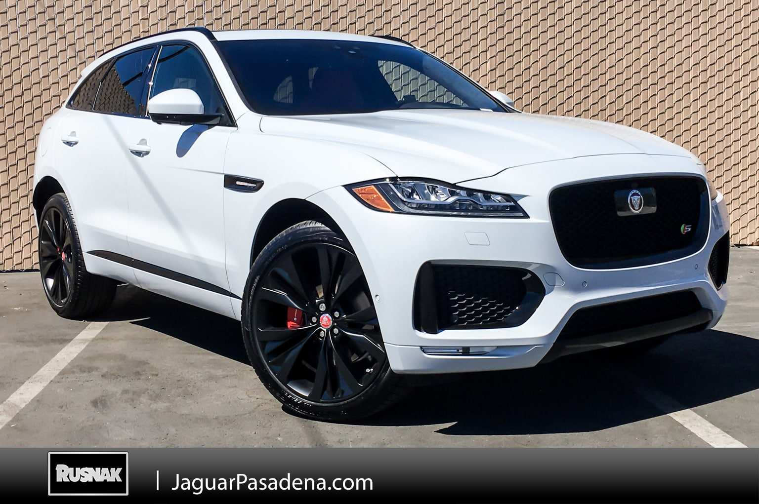 48 A 2019 Jaguar F Pace Changes First Drive