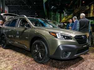 48 A 2020 Subaru Outback Spy Photos Price and Review