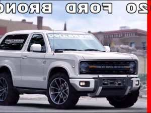 48 All New 2019 Ford Bronco Pictures Concept