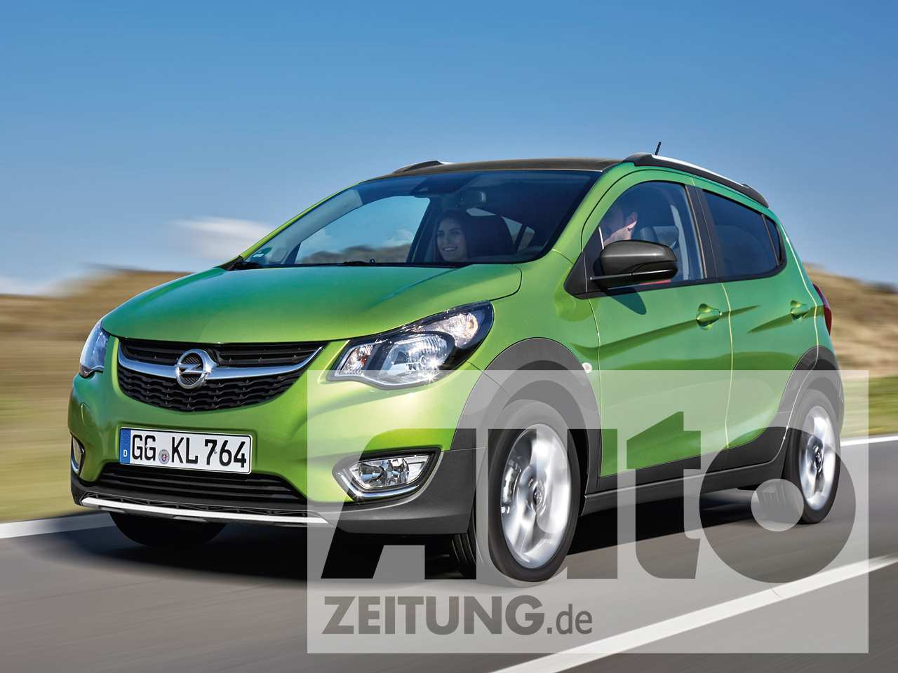 48 All New Nouvelle Opel Karl 2020 Spy Shoot