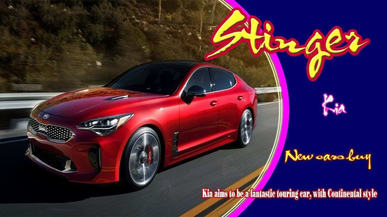 48 New 2020 Kia Stinger Gt Rumors