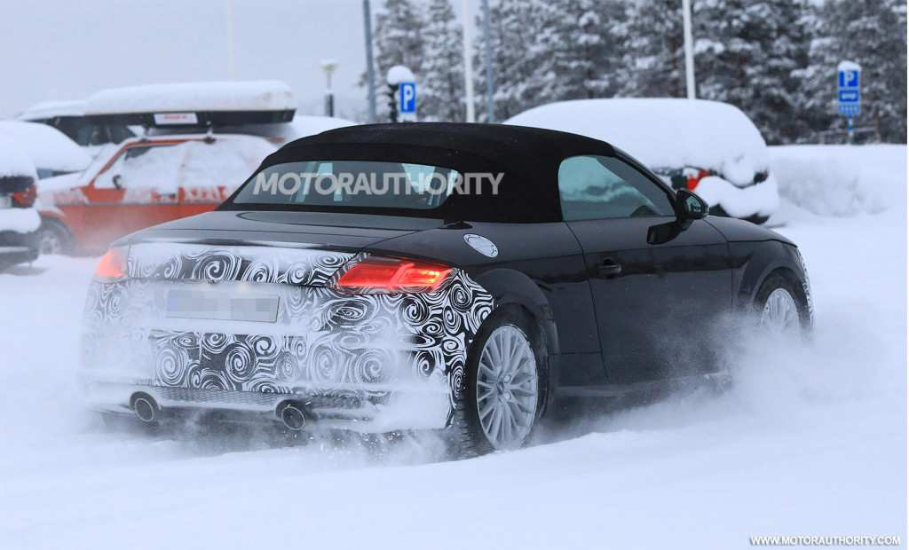 48 The Audi Tt Roadster 2020 Spy Shoot