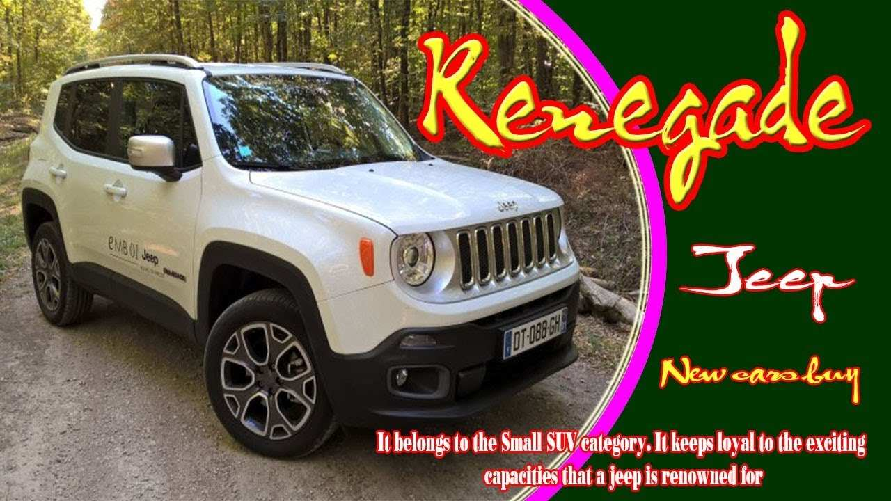 48 The Jeep Renegade 2020 Colors Model