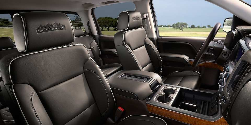 49 A 2019 Chevrolet High Country Interior Pictures