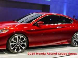 49 A 2019 Honda Accord Coupe Release Date Performance and New Engine