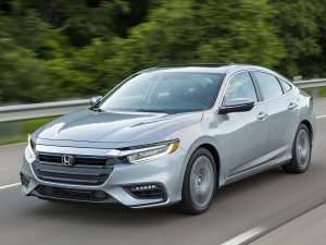 49 New 2019 Honda Insight Review Photos