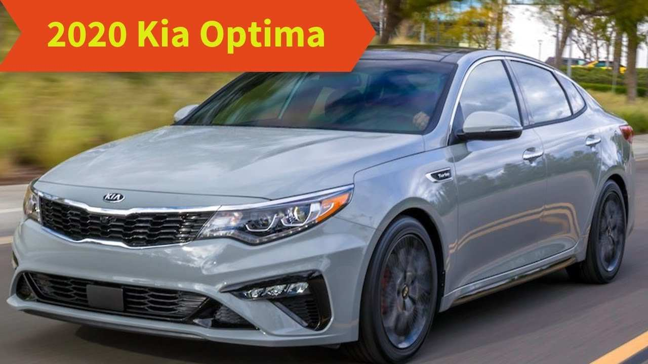 50 A 2020 Kia Optima Redesign Review And Release Date