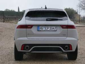 Jaguar E Pace Facelift 2020