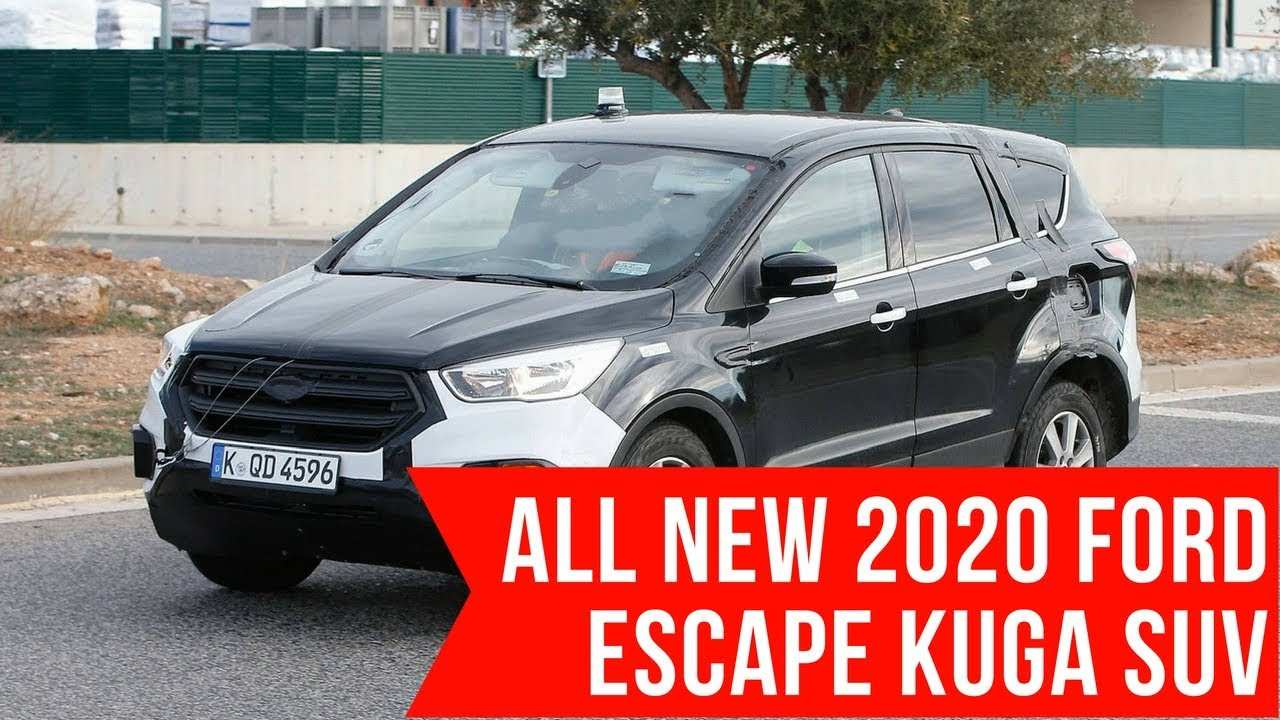 50 New 2020 Ford Escape Youtube Price and Release date