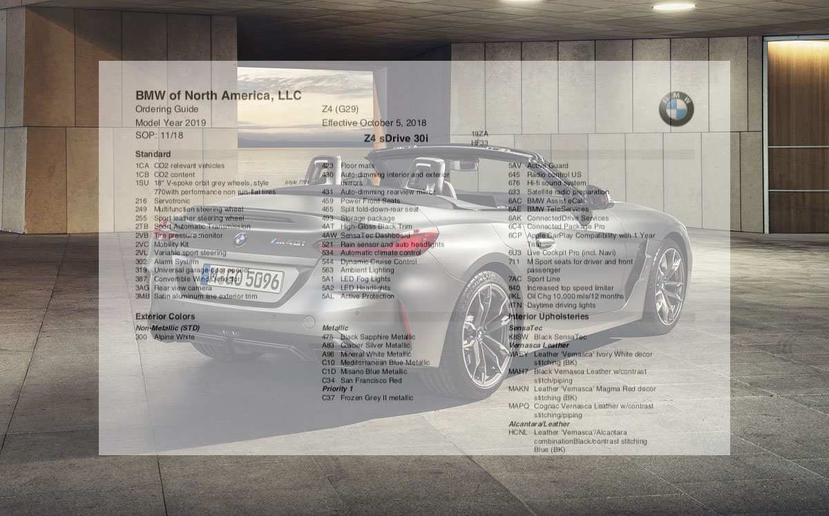 50 The 2019 Bmw Ordering Guide Specs And Review