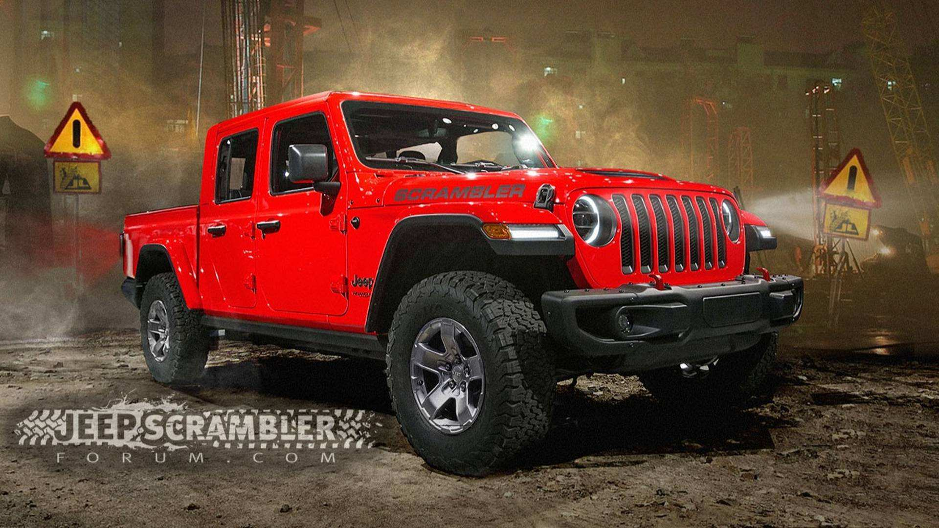50 The 2019 Jeep Scrambler Cost Redesign And Concept