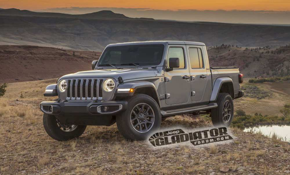 50 The 2020 Jeep Gladiator Engine Specs Concept And Review