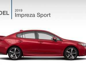 50 The Best 2019 Subaru Impreza Sedan Redesign and Concept
