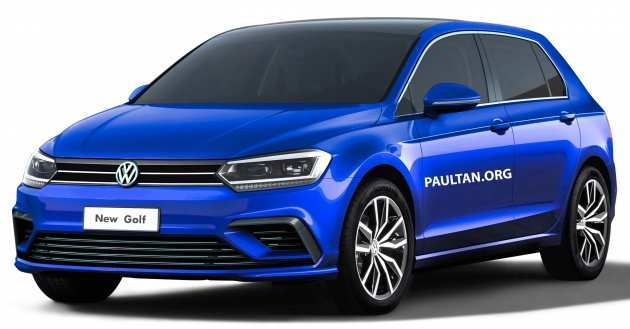 50 The Best 2019 Vw Golf Mk8 New Concept