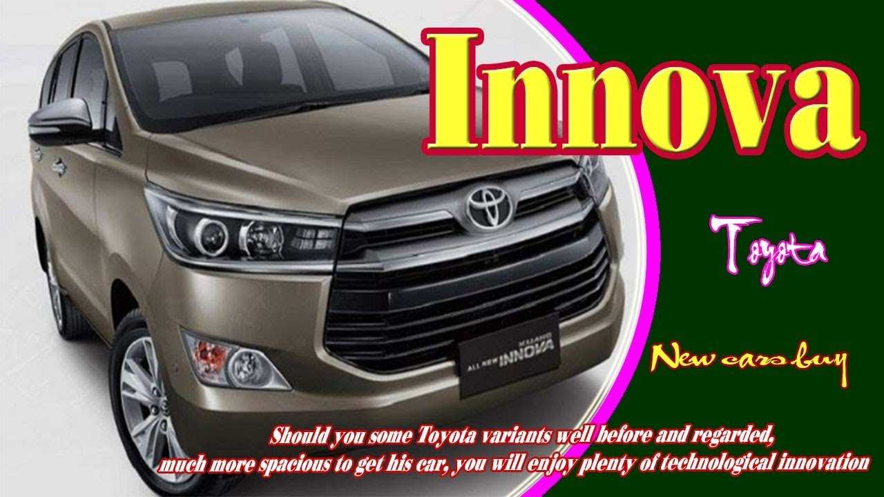 50 The Best Toyota Innova 2020 Price Design And Review