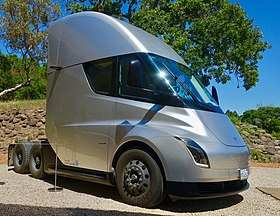 51 A 2019 Tesla Semi Truck Spesification