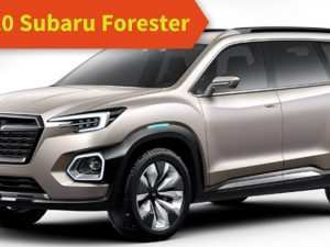 51 A 2020 Subaru Suv Models Concept and Review