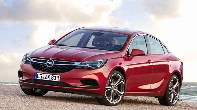 51 A Yeni Opel Astra Sedan 2020 Images