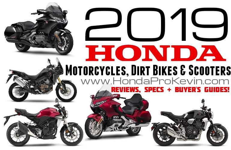 51 New 2019 Honda Line Up First Drive