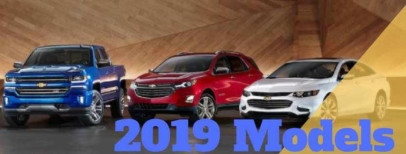 51 The 2019 Chevrolet Lineup Research New